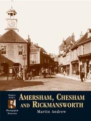 Francis Frith's Amersham, Chesham & Rickmansworth by Martin Andrew