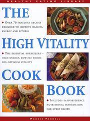 The High Vitality Cookbook PDF