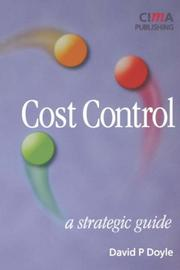 Cost Control by David Doyle