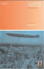 A Cultural History of Madrid PDF