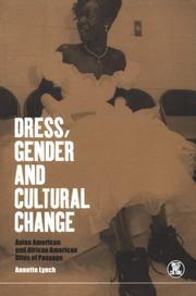 Dress, gender and cultural change PDF