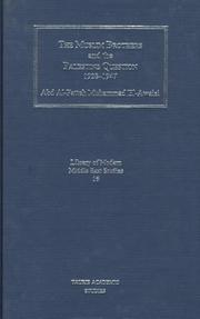 The Muslim Brothers and the Palestine Question 1928-1947 PDF