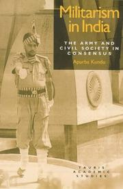 Militarism in India by Apurba Kundu