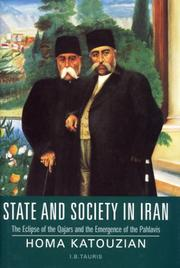 State and society in Iran by Homa Katouzian