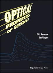 Optical properties of surfaces by Bedeaux, Dick.
