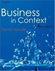 Business in context by David Needle