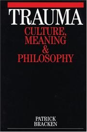 Trauma - Culture, Meaning and Philosophy PDF