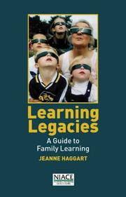 Learning legacies by Jeanne Haggart