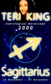 Teri King's Astrological Horoscopes for 2000 by Teri King