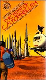 Cover of: The best of C. M. Kornbluth by C. M. Kornbluth
