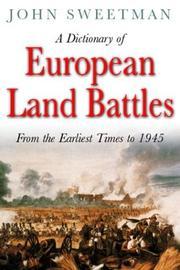 A dictionary of European land battles PDF