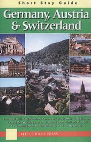 Short Stay Guide Germany, Austria & Switzerland (Short Stay Guides) PDF