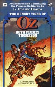 Hungry Tiger of Oz (The Wonderful Oz Books, #20) (Wonderful Oz Books) PDF
