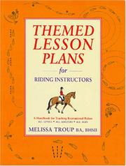Themed Lesson Plans for Riding Instructors PDF