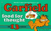 Garfield food for thought by Jim Davis