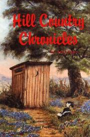Hill Country Chronicles PDF