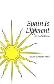 Spain is different by Helen Wattley Ames