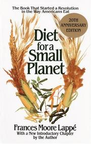 Diet for a small planet by Frances Moore Lapp