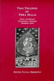 Cover of: Thai tellings of Phra Malai by Bonnie Pacala Brereton
