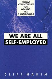 Cover of: We Are All Self-Employed by Cliff Hakim