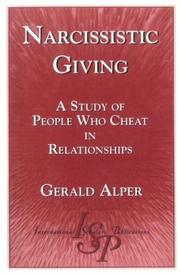 Narcissistic Giving by Gerald Alper