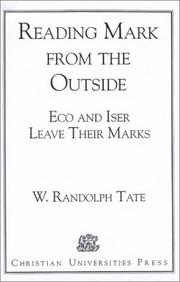 Reading Mark from the outside by W. Randolph Tate