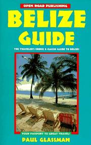 Belize Guide by Paul Glassman