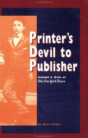 Printer's devil to publisher by Doris Faber