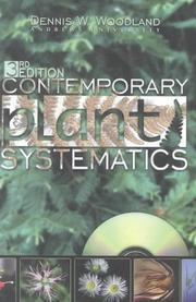 Contemporary plant systematics by Dennis W. Woodland