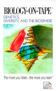 Genetics, Diversity, and the Biosphere/Cassettes PDF