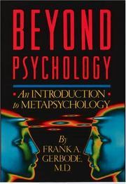 Beyond psychology PDF