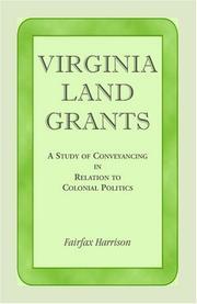 Virginia land grants PDF