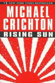 Cover of: Rising Sun by Michael Crichton