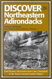 Discover the northeastern Adirondacks by Barbara McMartin