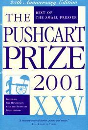 The Pushcart Prize XXV PDF