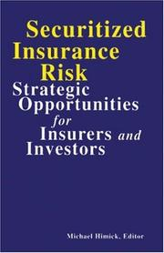 Securitized Insurance Risk PDF