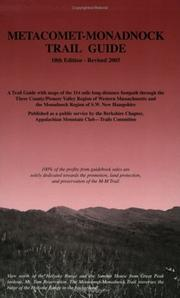 Metacomet-Monadnock Trail Guide PDF