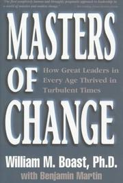 Masters of Change PDF