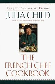 The French Chef Cookbook PDF