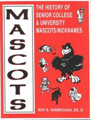 Mascots by Roy E. Yarbrough
