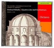I quattro libri dell&#39;architettura by Andrea Palladio