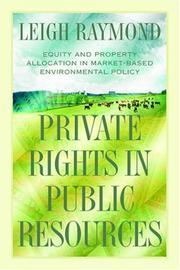 Private rights in public resources PDF