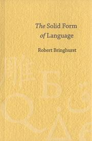 The solid form of language PDF