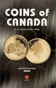 Coins of Canada by J. A. Haxby
