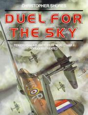 Duel for the sky by Christopher F. Shores
