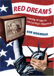 Red Dreams by Bob Biderman