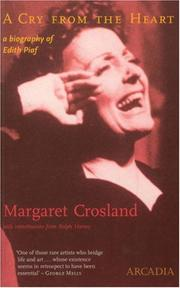 Cover of: A Cry from the Heart by Margaret Crosland