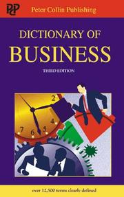 Dictionary of business PDF