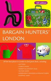 Bargain Hunter's London by Andrew Kershman