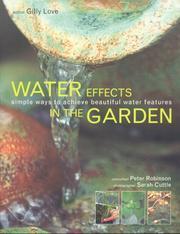 Water Effects in the Garden PDF